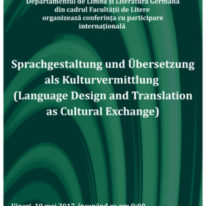 Sprachgestaltung und Übersetzung als Kulturvermittlung