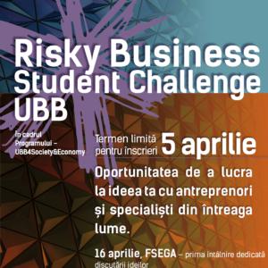 Risky Business Student Challenge UBB - Ein Projekt zur Mobilisierung des Innovations- und Kreativitätspotentials der Studierenden