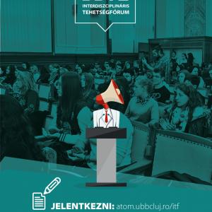 Interdiszciplináris tehetségfórum: Konferencia, ahol a legjobb előadót díjjazzák
