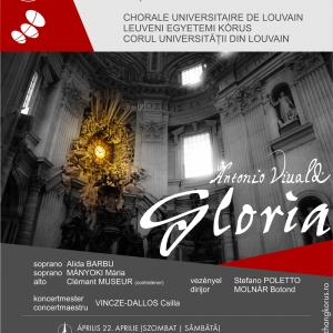 A Visszhang kórus és a Leuveni Egyetem Kórusának (Belgium) közös hangversenye