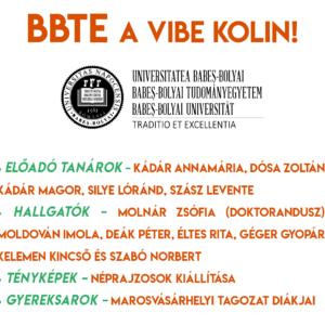 BBTE-s programok a VIBE fesztiválon