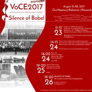 VoCE2017 - nemzetközi kórusfesztivál Kolozsváron