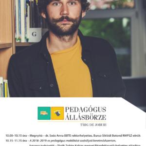 Pedagógus állásbörze a Babeș–Bolyai Tudományegyetemen