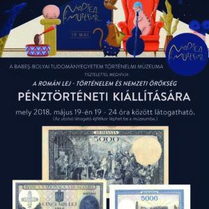 Múzeumok Éjszakája: A BBTE Történelmi Múzeuma pénztörténeti kiállítást szervez