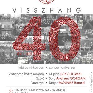 Visszhang 40 – Jubileumi koncerttel ünnepel a Visszhang kórus