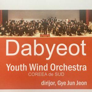 A dél-koreai Dabyeot – Youth Wind Orchestra fellép a BBTE Auditorium Maximumban