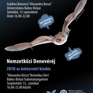 Nemzetközi Denevéréj – 2018-as kolozsvári kiadás