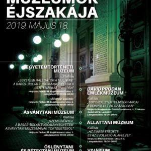 Múzeumok éjszakája a BBTE múzeumaiban