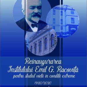 A BBTE újból megnyitja az Emil G. Racoviță nevét viselő, a szélsőséges körülmények közötti életet tanulmányozó intézetét