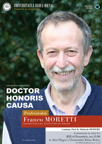 Afis - Franco Moretti