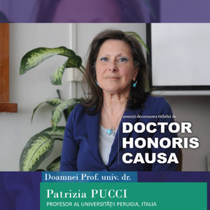 Prof. univ. dr. Patrizia Pucci - DHC al UBB