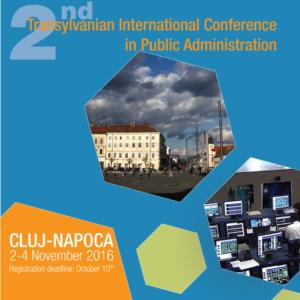 Cea de a doua editie aconferintei internationale Transylvanian International Conference in Public Administration