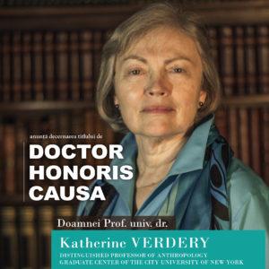 Prof. univ. dr.Katherine Verdery - DHC al UBB