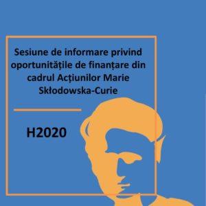 Sesiunea de informare privind oportunitățile de finanțare din cadrul Acțiunilor Marie Skłodowska - Curie are loc la UBB
