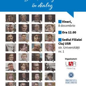 """Lansare de carte """"Scriitori clujeni în dialog"""", desfășurată la UBB"""