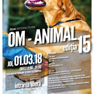 Ziua Interacțiunii Om-Animal la UBB