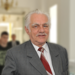 Acad. Ionel Haiduc - professor emeritus at the Chemistry Faculty of Babeş-Bolyai University, member of the Romanian Academy