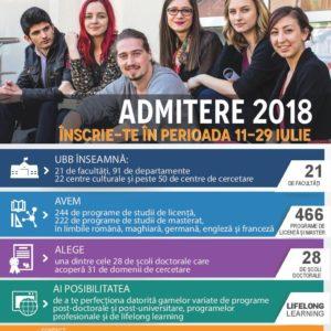 UBB își deschide porțile pentru viitorii studenți