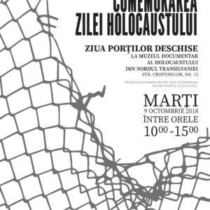Comemorarea Zilei Naționale a Holocaustului, la UBB
