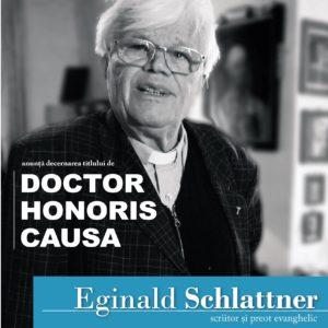 Scriitorul Eginald Schlattner - DHC al UBB