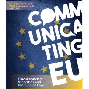 Provocările Uniunii Europene vor fi dezbătute la conferința internațională Communicating EU, organizată de UBB