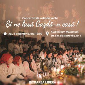 """Concert de colinde vechi """"Și ne lasă Gazdă-n casă!"""
