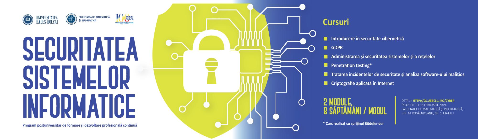 Banner securitatea sistemelor informatice - NEWSUBB