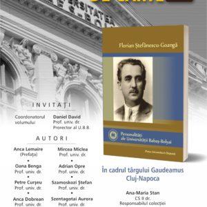 Lansarea volumului Florian Ștefănescu-Goangă, desfășurată în cadrul celei de-a XX-a ediții a Târgului de Carte Gaudeamus