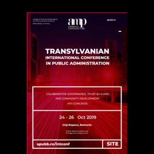 Cea de a IV-a ediție a conferinței internaționale de Administrație Publică, organizată la UBB