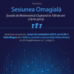 Școala de Matematică Clujeană la 100 de ani