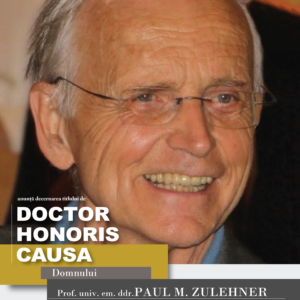 Prof. univ. em. ddr. Paul M. Zulehner - DHC al UBB