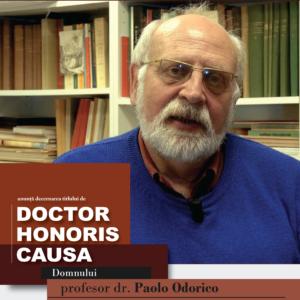 Prof. dr. Paolo Odorico - DHC al UBB