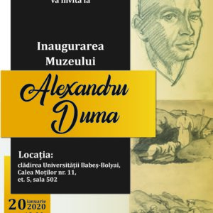 UBB inaugurează Muzeul Alexandru Duma
