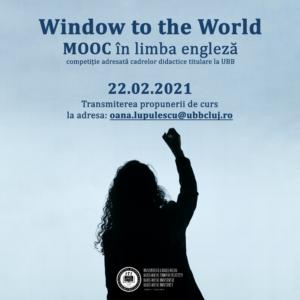 WindoW to the World – competiția UBB de cursuri MOOC în limba engleză