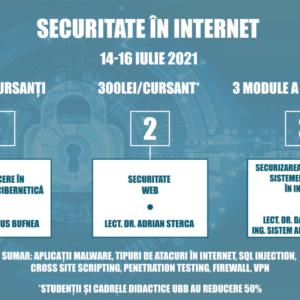 """UBB organizează cursul online """"Securitate în Internet"""""""