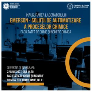Inaugurarea laboratorului «EMERSON - Soluţii de automatizare a proceselor chimice» la UBB